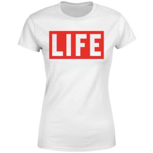 LIFE Magazine LIFE Logo Women's T-Shirt - White