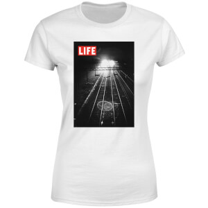 LIFE Magazine Railway Tracks Women's T-Shirt - White