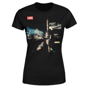 LIFE Magazine Night Life Women's T-Shirt - Black