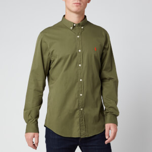 Polo Ralph Lauren Men's Chino Sport Shirt - Jungle