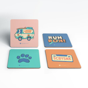 Scoob! Coaster Set