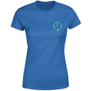 Scooby-Doo Logo Women's T-Shirt - Royal Blue