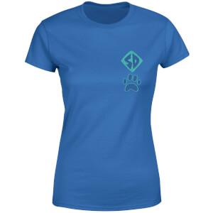 T-shirt Scooby! - Bleu - Femme