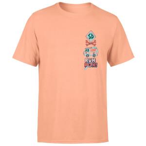 T-shirt Ruh-Roh! - Corail - Homme