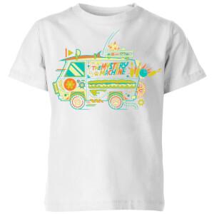 T-shirt The Mystery Machine - Blanc - Enfants