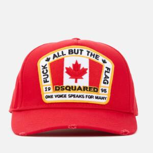 Dsquared2 Men's Flag Baseball Cap - Red