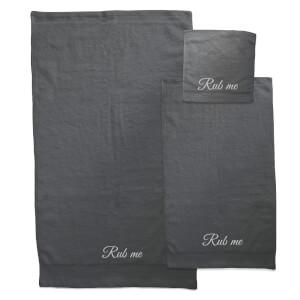 Rub Me Towel Bundle - Black