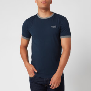 Superdry Men's Ringer T-Shirt - Rich Navy