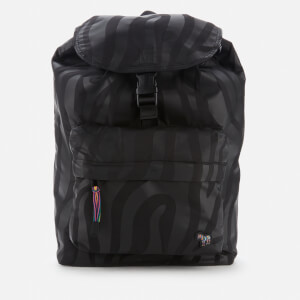 PS Paul Smith Men's Zebra Backpack - Black