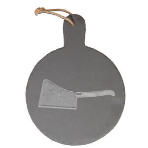 Knife Engraved Slate Cheese Board