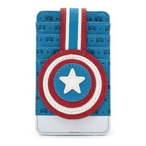 Loungefly Pop By Marvel Captain America Cardholder