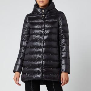 Herno Women's Amelia Iconic 3/4 Length Coat - Nero
