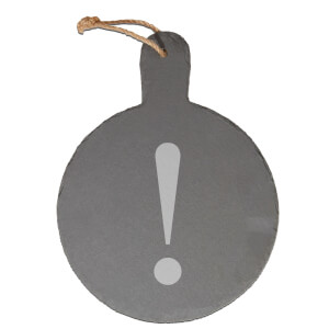 ! Engraved Slate Cheese Board