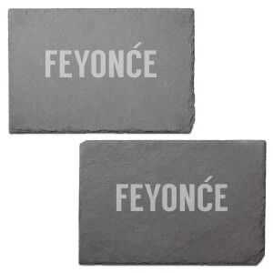 Feyon?e Engraved Slate Placemat - Set of 2
