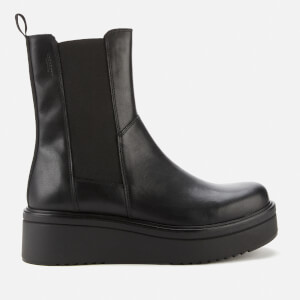 Vagabond Women's Tara Leather Chunky Chelsea Boots - Black