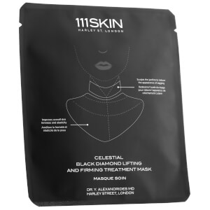 111SKIN Celestial Black Diamond Lifting and Firming Neck Mask Single 1.45 oz