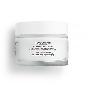 Hyaluronic Acid Overnight Hydrating Face Mask 50ml