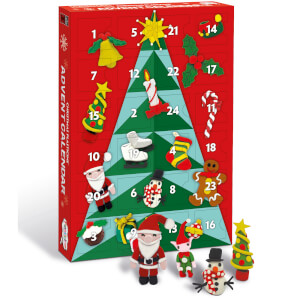 Plasticine Christmas Advent Calendar