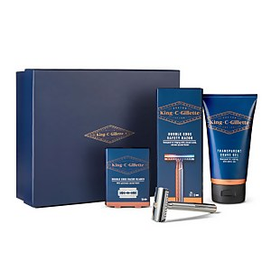 King C. Gillette Double Edge Razor Shaping Kit