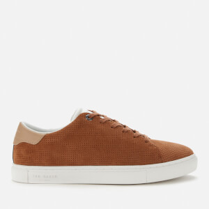 Ted Baker Men's Runner Suede Cupsole Trainers - Tan