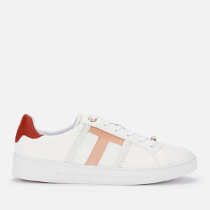 Ted Baker Women's Ottoli Leather Low Top Trainers - White