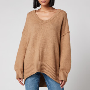 Free People Women's Brookside Tunic Knit - Neutral