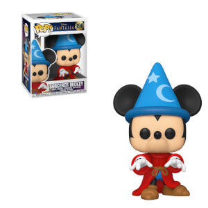 Disney Fantasia 80th Sorcerer Mickey Figura Pop! Vinyl