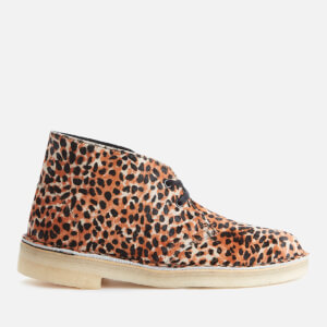 Clarks Originals Women's Pony Hair Desert Boots - Leopard Print