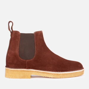 Clarks Originals Men's Desert Chelsea Boots - Chocolate