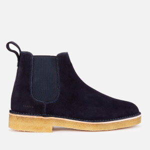 Clarks Originals Men's Desert Chelsea Boots - Navy