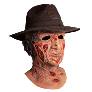 Trick or Treat Nightmare on Elm Street Deluxe Freddy Mask with Hat