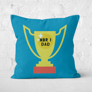 Nbr 1 Dad Cup Square Cushion