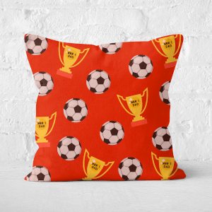 Football Dad Square Cushion
