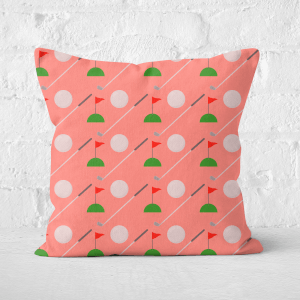 Golfing Square Cushion