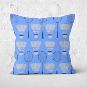 Badminton Square Cushion