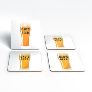 Dad's Beer Coaster Set