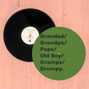 Grandad/Grandpa/Pops... Slip Mat