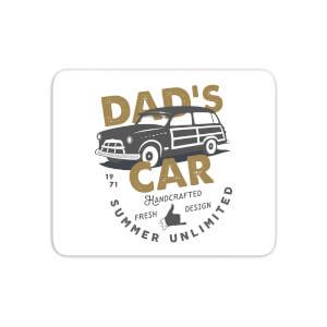Dad's Car Mouse Mat