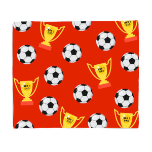 Football Dad Fleece Blanket