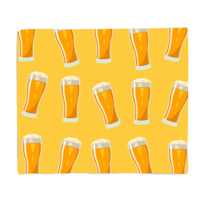 Beers Fleece Blanket