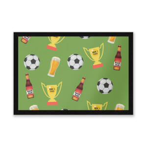 Football Fan Entrance Mat
