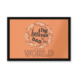 Best Fish Dad Entrance Mat