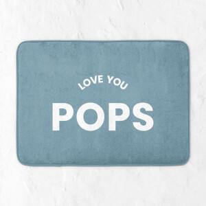 Love You Pops Bath Mat