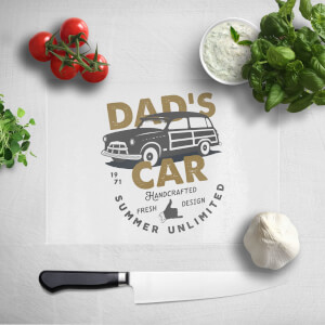 Dad's Car Chopping Board