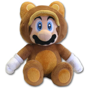 Nintendo Super Mario - Tanooki Plush 21cm