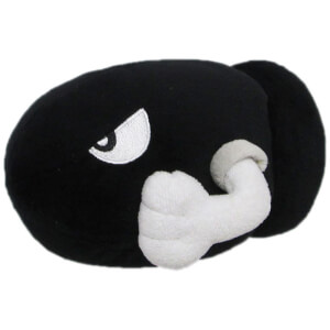 Nintendo Super Mario - Bullet Bill Plush 13cm