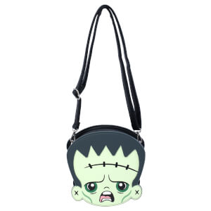 Loungefly Universal Monsters Frankie & Bride 2-side Crossbody Bag