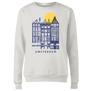 Amsterdam Women's Sweatshirt - White