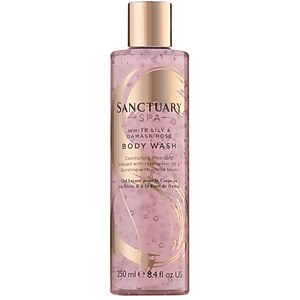 White Lily and Damask Rose Body Wash 250ml