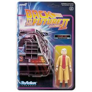 Super7 Back To The Future 2 ReAction Figure - Doc Brown Future Action Figure
